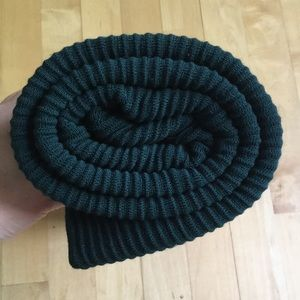 Ports green 100% wool wrap shawl Holt Renfrew